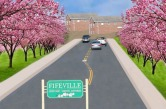 Imagine Cherry Avenue with Cherry Trees – Cathy Cassety, Gregg Early, Daniel Katz